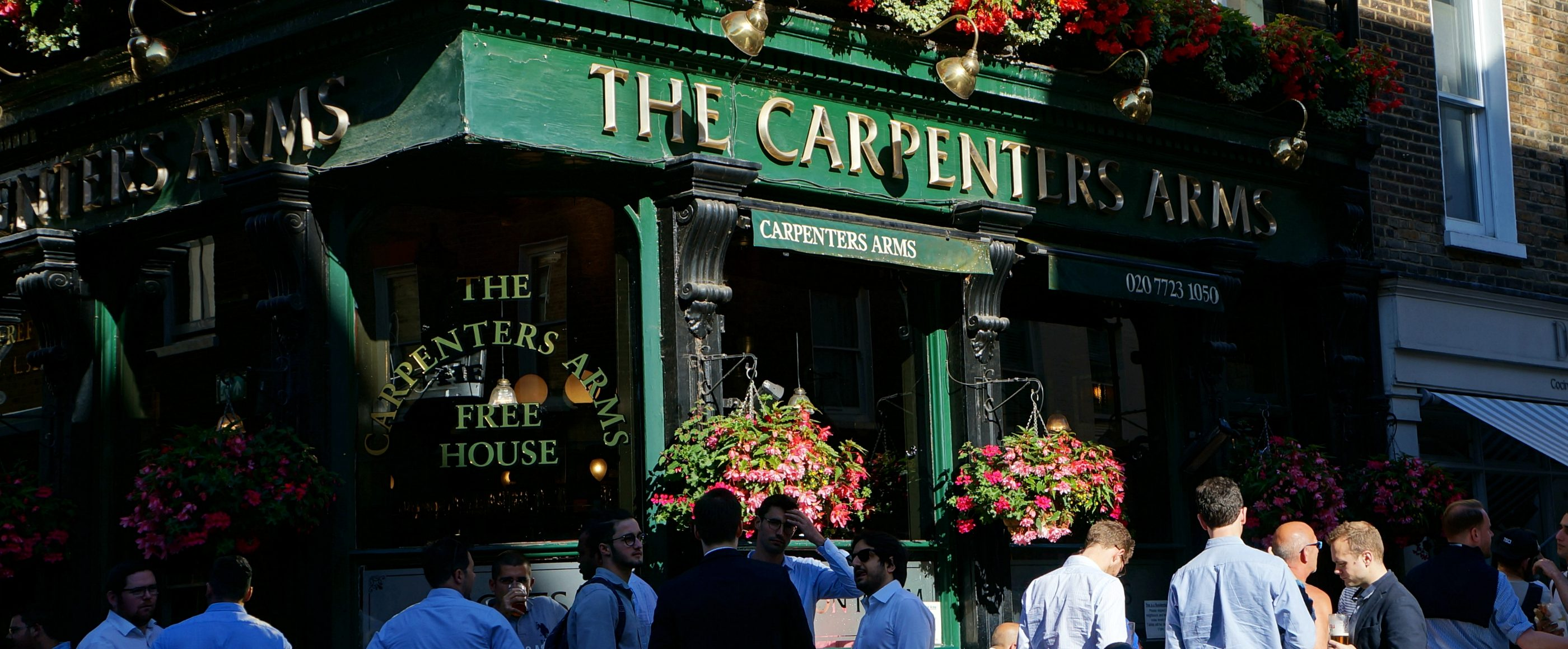 The Carpenters Arms | Pub with Live sports | Marylebone